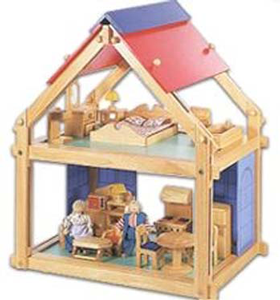 dollhouse wood